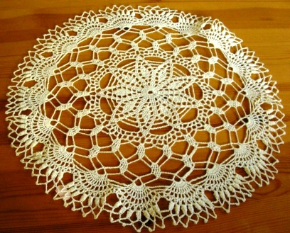 Nerta dekoratyvinė servetėlė